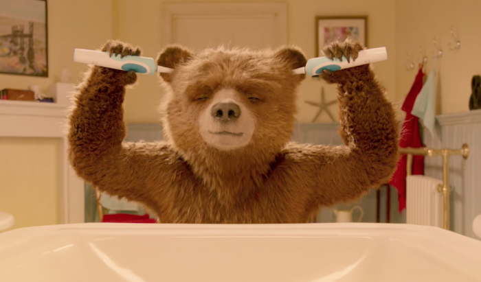 Paddington 2 toothbrush scene