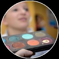 Pastille maquillage